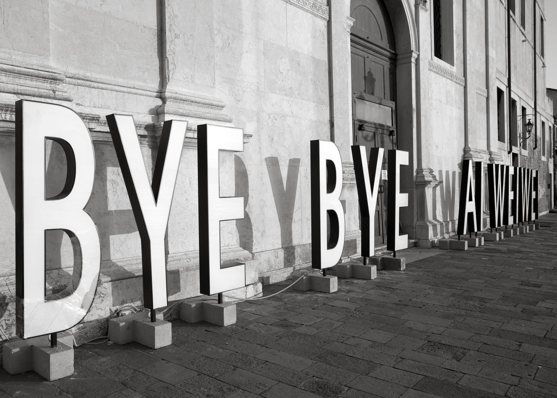 Byebye Ai Weiwei installazione3_bassa