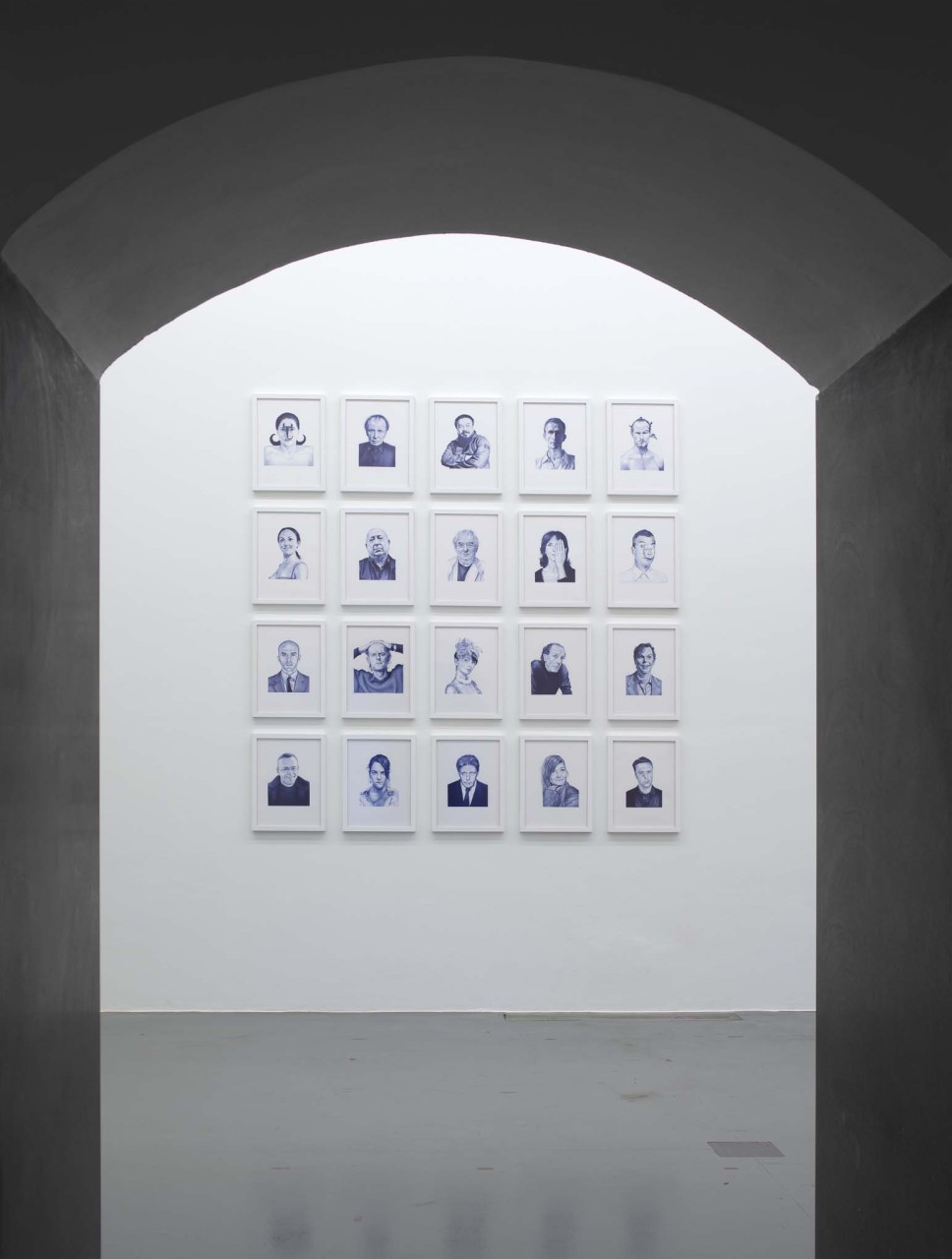 Bic Data Blue (Temple of Art), 2014